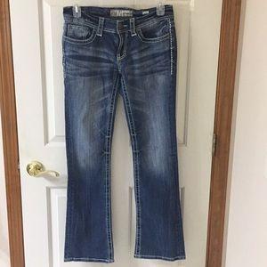 BKE culture bootcut jeans size 28L nwot